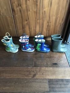 Boys' / Kids Rain Boots – Joe Fresh – sizes 8, 9, 10, 11
