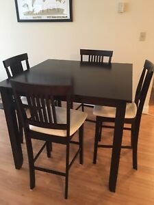 Kitchen table (counter height)