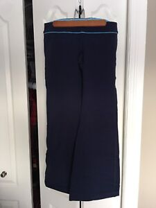 Low rise navy blue pants, size 10, never worn