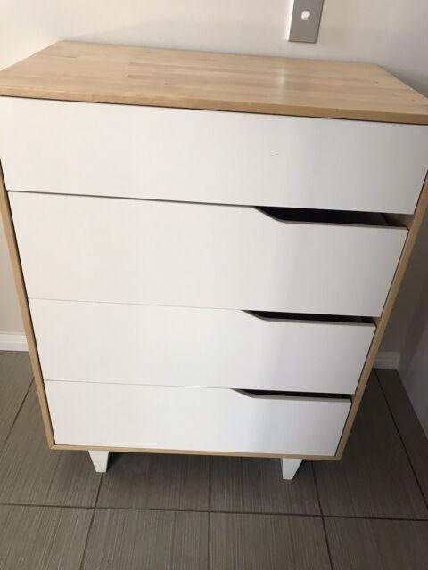 Ikea Mandal Chest Of 4 Drawers Dressers Gumtree