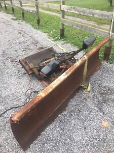 Plow and homemade mount for 88-98 Chevy 1/2 ton