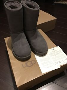 UGG Classic grey suede boots size 7