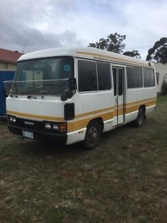 Toyota coaster bus project camper