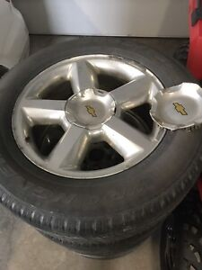 Chevy tires and rims 275/60 r20