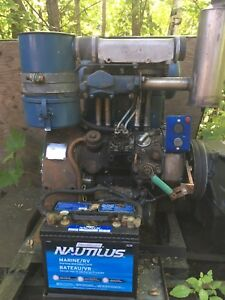 Hatz z782 Diesel engine with Chicago Electric 10kw generator