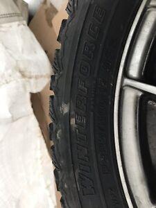 """17"""" mags avec pneu d'hiver"""