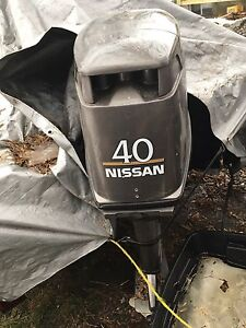 40 hp Nissan outboard