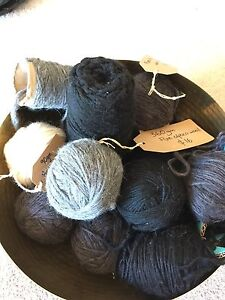 Mixed bundle of pure alpaca wool hand spun from ecuador Cowra Cowra Area Preview