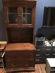 Book Case and Filing Cabinet