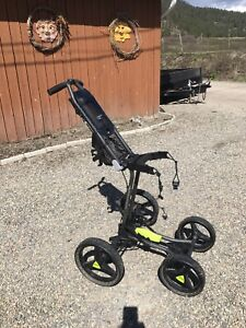 4wheel golf push cart