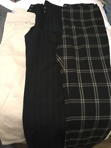 7 pairs of size 10 ladies dress pants and 3 pairs of capris
