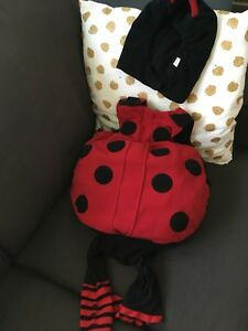18-24 months lady bug costume