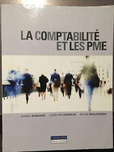 Deux livres La comptabilité et les PME SCO1240