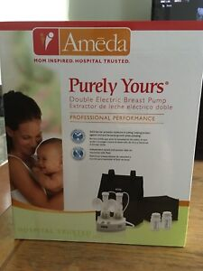 Ameda double electric pump