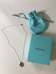 PERFECT CONDITION Tiffany heart pendant