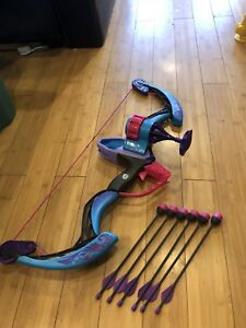 Nerf Rebelle compound bow.