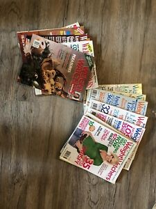 Weight Watcher magazines