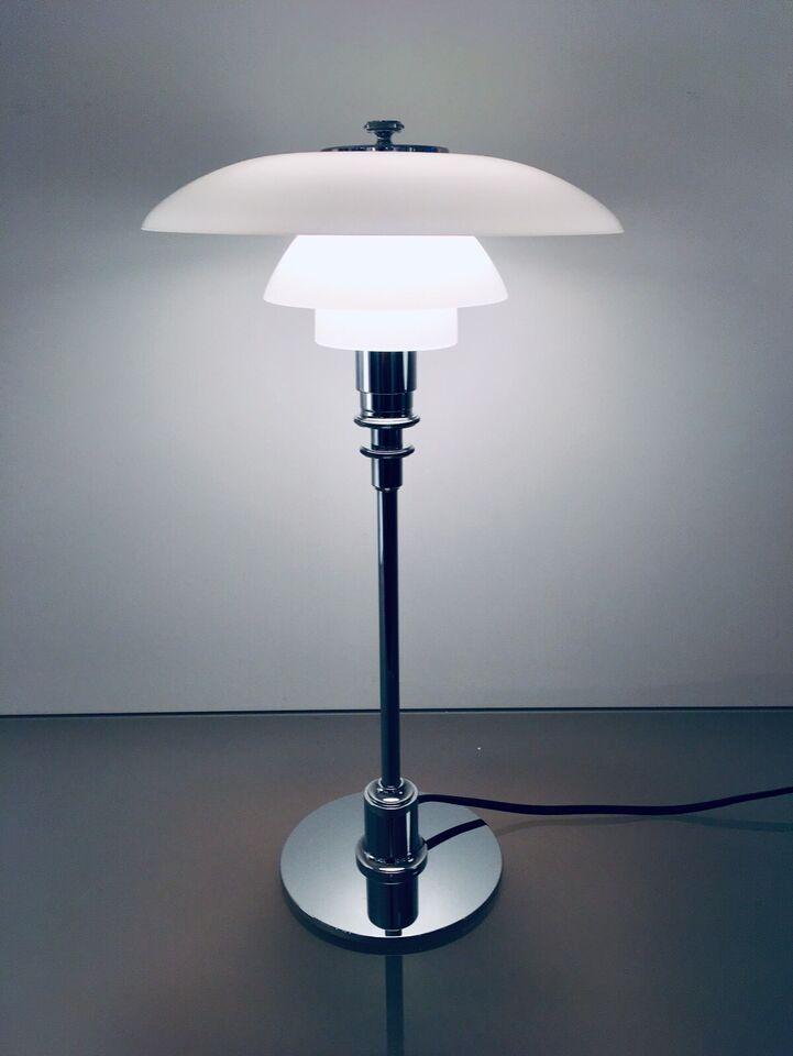 Louis Poulsen PH 2/1 Tischleuchte Chrom/Opalglas in Dortmund