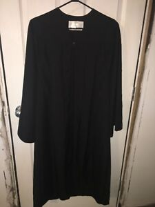 Black graduation Gown