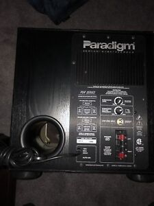Paradigm PD-10 —- Powered Subwoofer