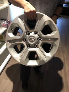 Toyota 4Runner OEM factory 17 inch rims - sold ppu