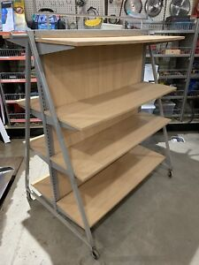 Rolling display or Storage shelvinf