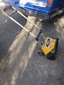 Electric snow blower 30$