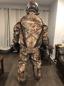 Men's fxr snowmobile suit camo