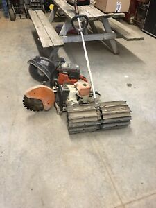 Quick Cut Saws and Power Broom