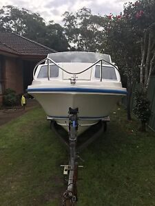 Caribbean crestcutter + 115hp yamaha $11000 ono Shoal Bay Port Stephens Area Preview