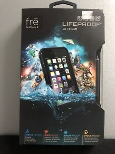 LifeProof Fre iPhone 6/6s Fitted Hard Shell Case - Black