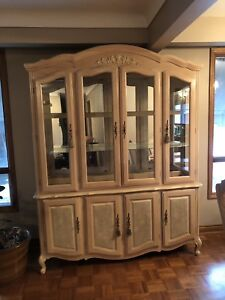 Dining room set with large hutch