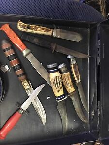 Collectors knives Rankin Park Newcastle Area Preview