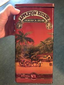 Appleton Estates Jamaica Rum tin