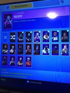 Galaxy Skin And Royal Bomber Account with STW Fortnite