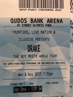 Drake Day One  4x VIP GA