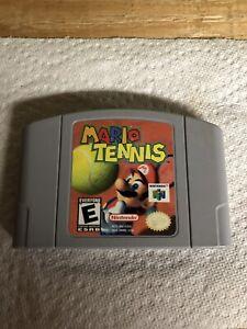 A vendre n64 Mario tennis