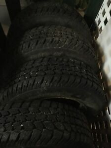 Studded winter tires on rims for sale!!