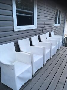Exterior lawn chairs