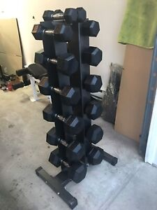 Rack pour dumbbells