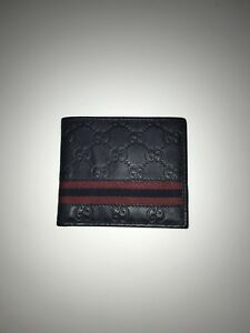Gucci Wallet - Signature Web Design (men's)