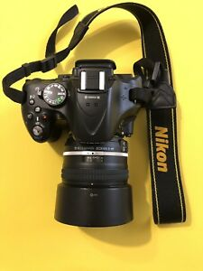 Appareil photo reflex Nikon D5200+ objectif