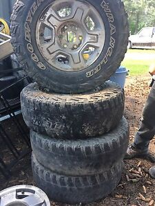 Chevy/Gmc rims 17 inch rims with Delta ATs and TPS