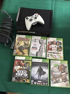 Xbox 360 and extras $60