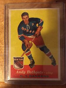1957 58 Andy Bathgate topps