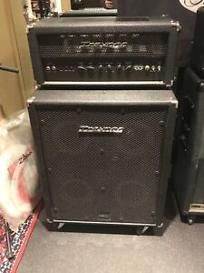 Traynor Bass Amp stack