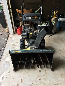 29 inch 10.5HP YardWorks SnowBlower