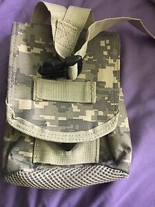Military style dump pouch