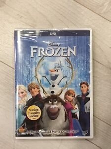 Frozen DVD With French version