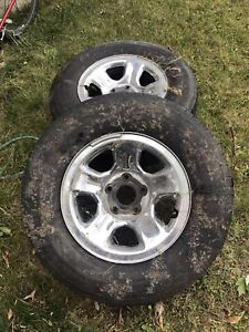 Dodge Ram Tire/Wheel Package